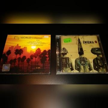 CD Enigma Le roi est mort , City World collection