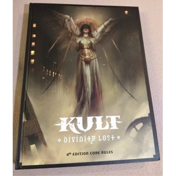 Kult Divinity Lost 4th Edition of Kult Core Rules