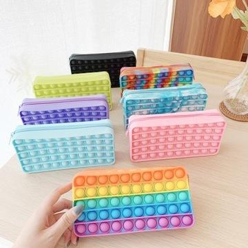 Piórnik typu Pop-It wiele kolorów!