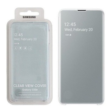 Oryginalne etui Samsung Galaxy S10e CLEAR VIEW