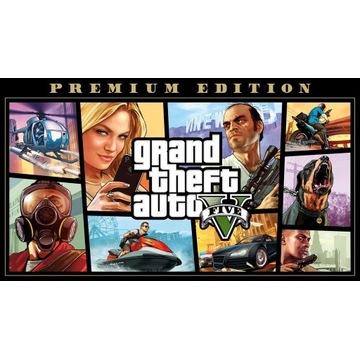 GTA V Premium Edition PC Epic Games NA WŁASNOŚĆ