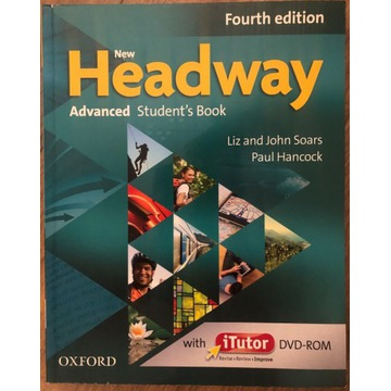 New Headway Advanced Student's book + Workbook +CD