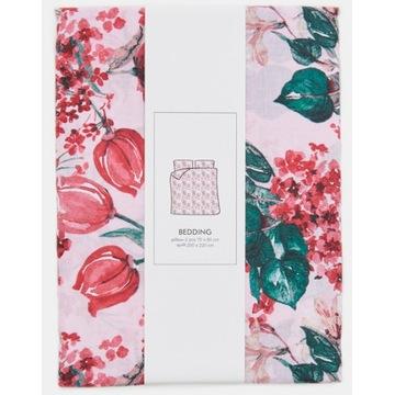 Pościel bawełniana SPRING FLOWERS 200x220/70x80