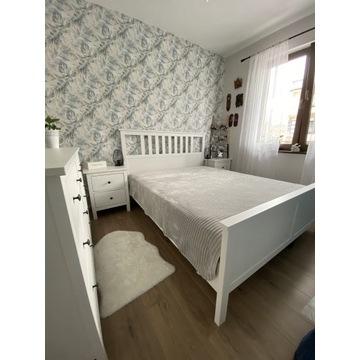 Łóżko Hemnes 160x200 z materacem