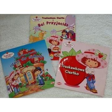 Zestaw 3 książeczek Truskawkowe Ciastko!