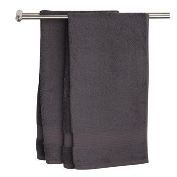 Ręcznik KARLSTAD 500g/m² grafitowy 40x60