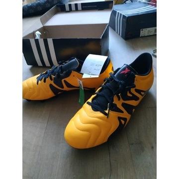 Adidas X 15.3 FG/AG Leather S74640 r.44