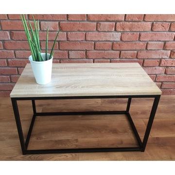 Stolik kawowy industrialny stół loftowy ława
