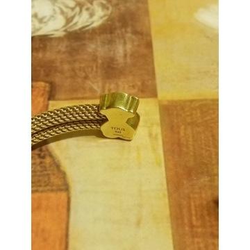 Złota bransoleta Tous słodkie misie