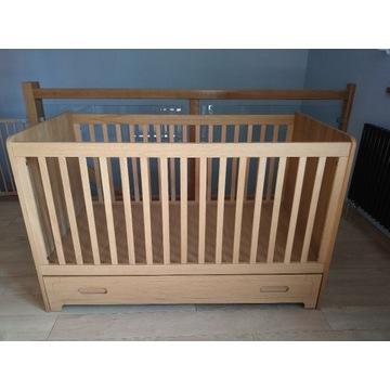 BELLAMY Sherwood łóżeczko tapczanik 70x140 dębowy