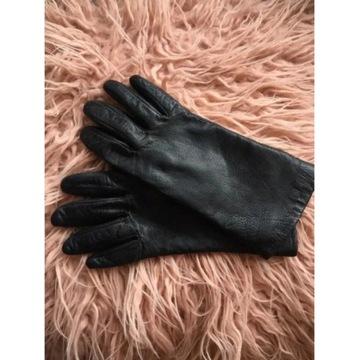 Czarne rękawiczki Wittchen M/7