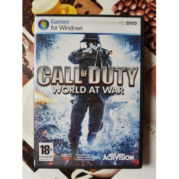Call of Duty 5 - World at War PL PC - Stan idealny