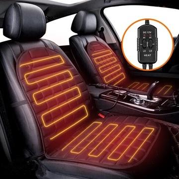 Podgrzewane poduszki na fotele do samochodu
