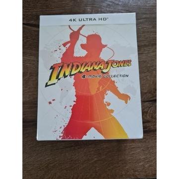 Indiana Jones kompletna kolekcja 4K UHD Steelbook