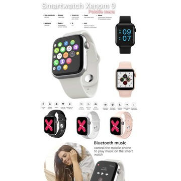 Smartwatch ciśnieniomierz pulsometr FB YT SMS hit