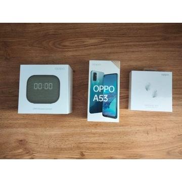 Telefon OPPO A53 4GB/128GB+(glosnik+słuchawki)