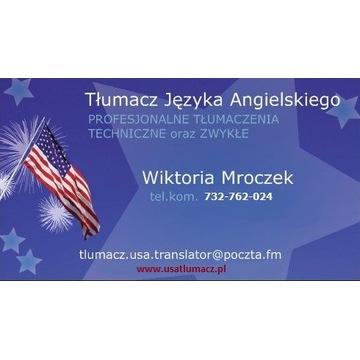 Profesjonalny Tłumacz - Tłumaczenia TECH./ZWYKŁE