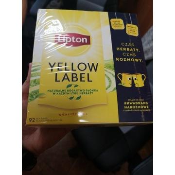 Herbata Lipton 92 torebki okazja!