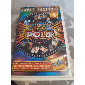 VHS disco polo z shazza,akcent,mister dex,boys