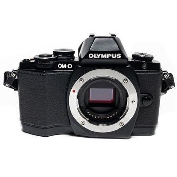 Aparat Olympus OM-D E-M10 korpus + 3 baterie