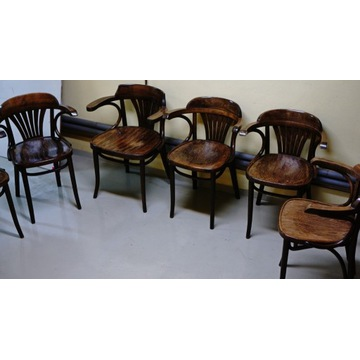 Krzesła giętę Radomsko komplet 6 szt.
