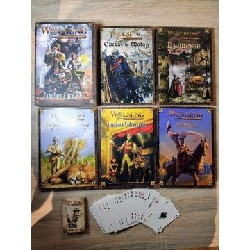 Wolsung komplet podręczników + talia kart
