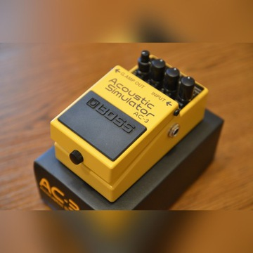 BOSS AC-3 ACOUSTIC symulator akustyka efekt gitara