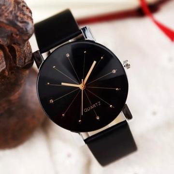 Stylowy zegarek kwarcowy licytacja od 1zł