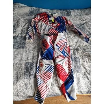 Spodnie r. 30 bluza S cross NO FEAR jak nowe