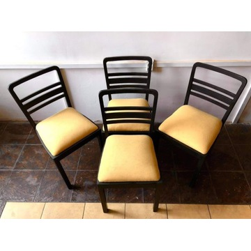 Krzesła typ 225 Gościcińskie Fabryki Mebli lata 50