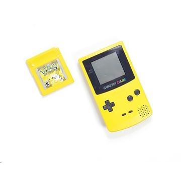 Nintendo GameBoy Color Yellow + Pokemon Pikachu