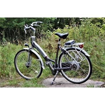 Zadbany rower elektryczny SPARTA DLX COMFORT / ALU