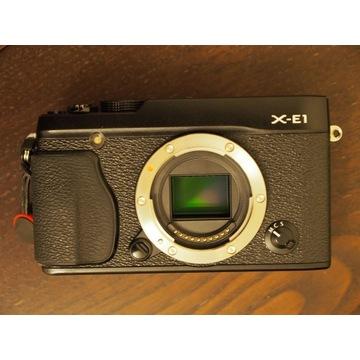 Aparat Fujifilm X-E1 body bezlusterkowiec