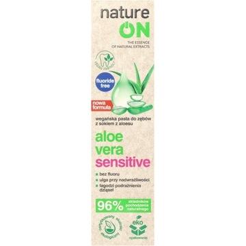 NATUREON Aloe Vera Sensitive łagodząca pasta