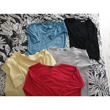 Komplet ubran w rozmiarze 40 (35sztuk)