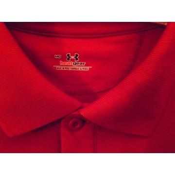 UNDER ARMOUR koszulka POLO HeatGear TermoAktywna c