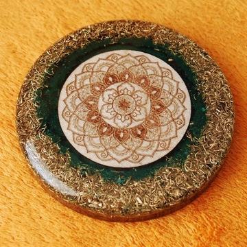 Orgonit, Płytka, Mandala, odpromiennik