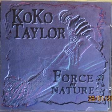 Koko Taylor - Force of Nature;  CD;  (NM)