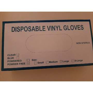 Rękawiczki Vinylowe
