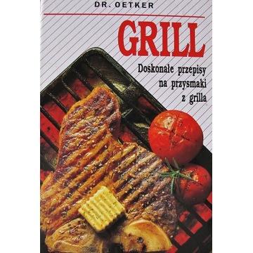 Doskonałe przepisy na przysmaki grilla DR. Oetker
