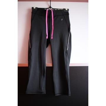 Rybaczki legginsy spodnie h&m sport xs 34 bieganie