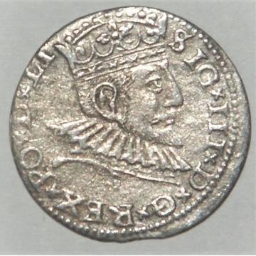 3 Grosze ZYGMUNT III WAZA  1591