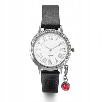 Avon zegarek Tiarra z przywieszką diamencik