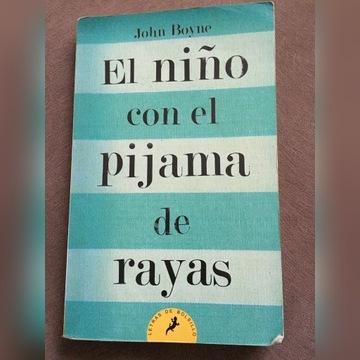 Książka po hiszpańsku el ninocon el pijama de raya