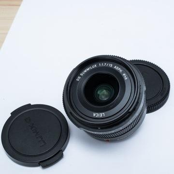 Panasonic Leica DG Summilux 15mm/f1.7 ASPH