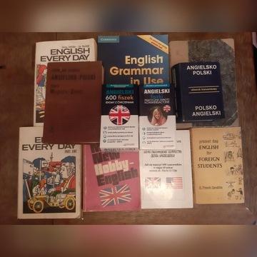 Zestaw książek do nauki angielskiego