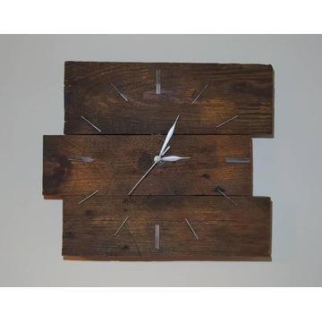 Zegar- Manufaktura starego drewna