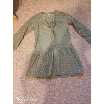Sukienka khaki r.158