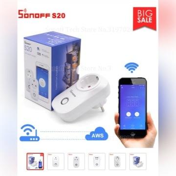 Sonoff  S20 typ E Inteligentne gniazdko WiFi Smart