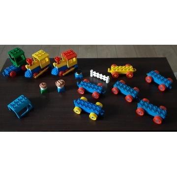 Zestaw Lego Duplo zestaw kolejowy. 23 elementy.